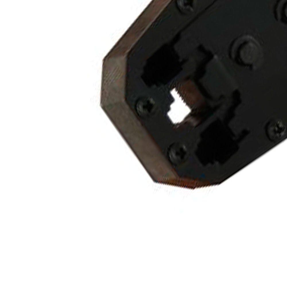 Alicate Crimpador para Telefone e Computador RJ45, RJ12, RJ11 e CAT5 - Imagem zoom