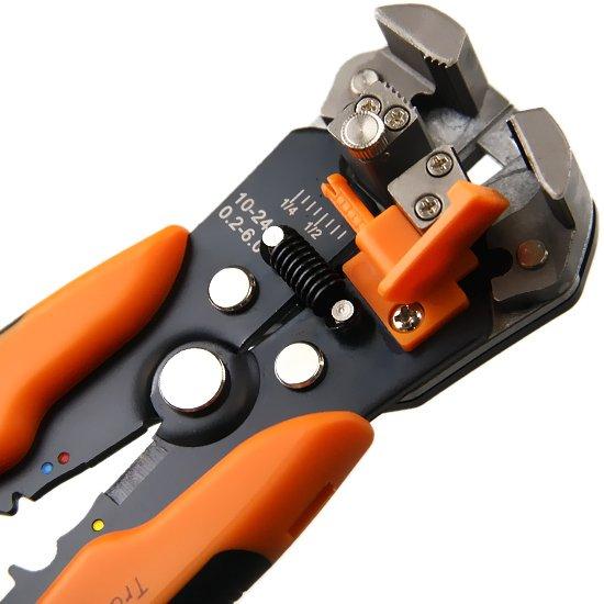 Alicate Desencapador de Fios Automático 8 Pol. - Imagem zoom