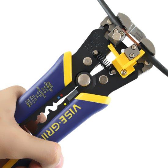 Alicate para Eletricista e Desencapador de Fios Vise-Grip de 8 Pol.  - Imagem zoom