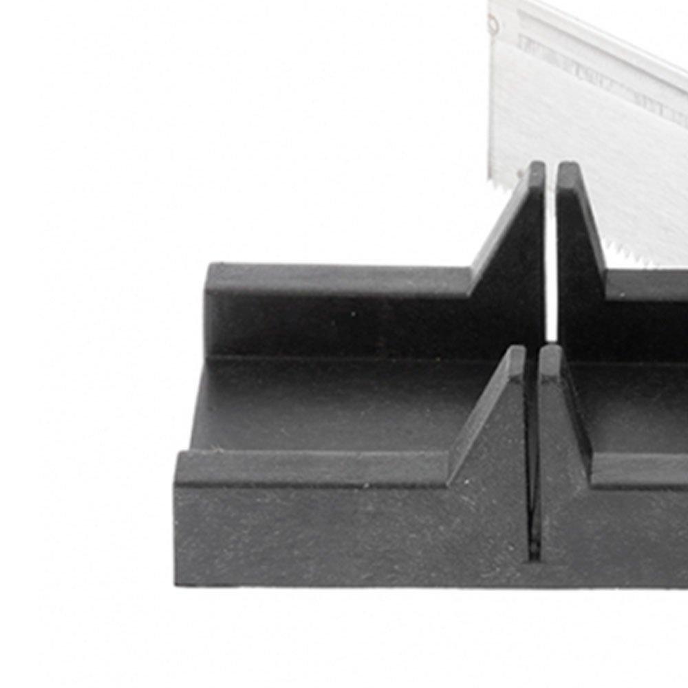 Caixa Meia Esquadria em Plástico 300x65mm com Serra 300mm - Imagem zoom