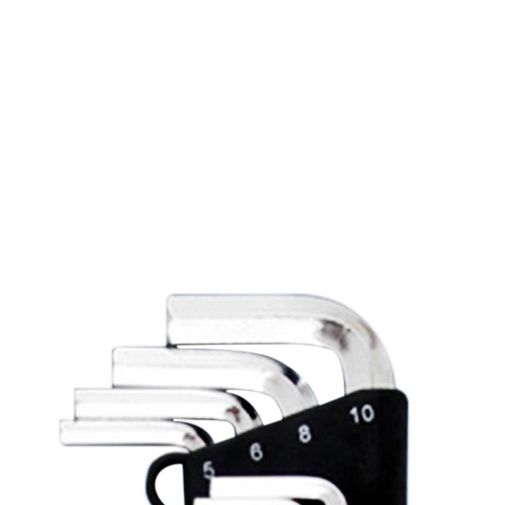 Jogo de Chave Allen Longa Abaulada com 10 Peças - Imagem zoom