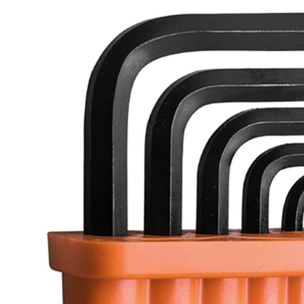 Jogo de Chaves Hexagonais 2 a 10 mm com 8 Peças - Imagem zoom