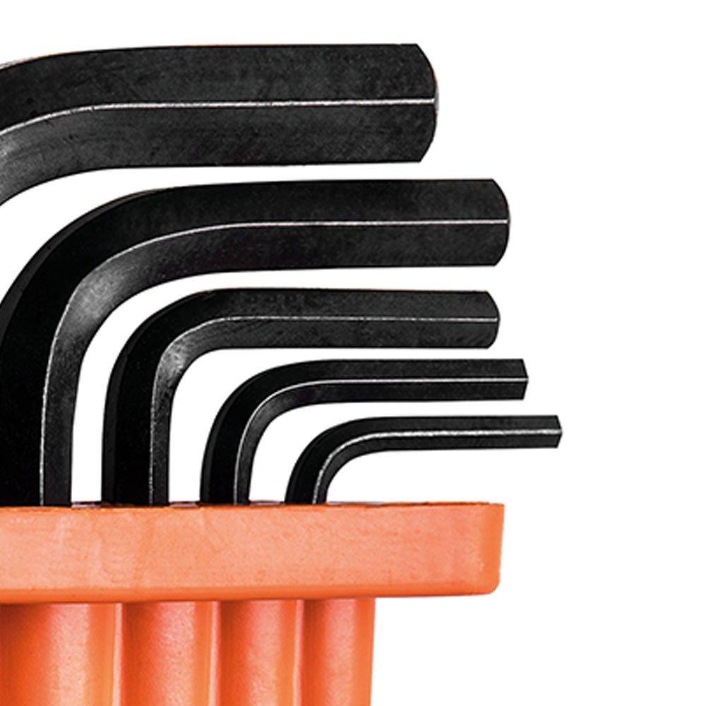 Jogo de Chaves Hexagonais 2,5 a 8 mm com 5 Peças - Imagem zoom
