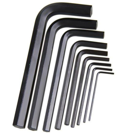 Jogo de Chave Allen Curta de 1,5 a 10 mm com 9 peças - Imagem zoom