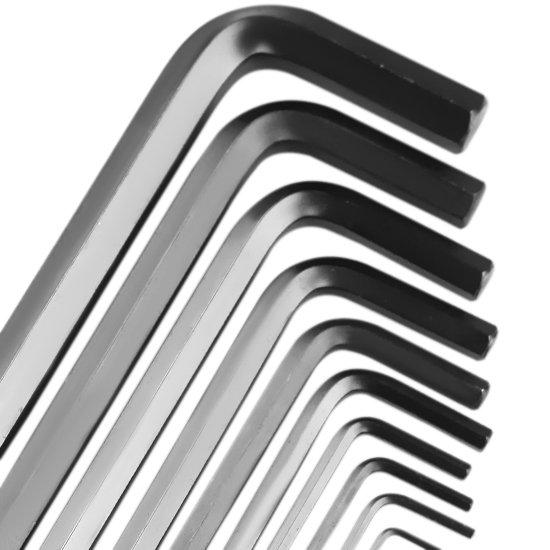 Jogo de Chaves Allen Longas Abauladas em Milímetro com 10 Peças - Imagem zoom
