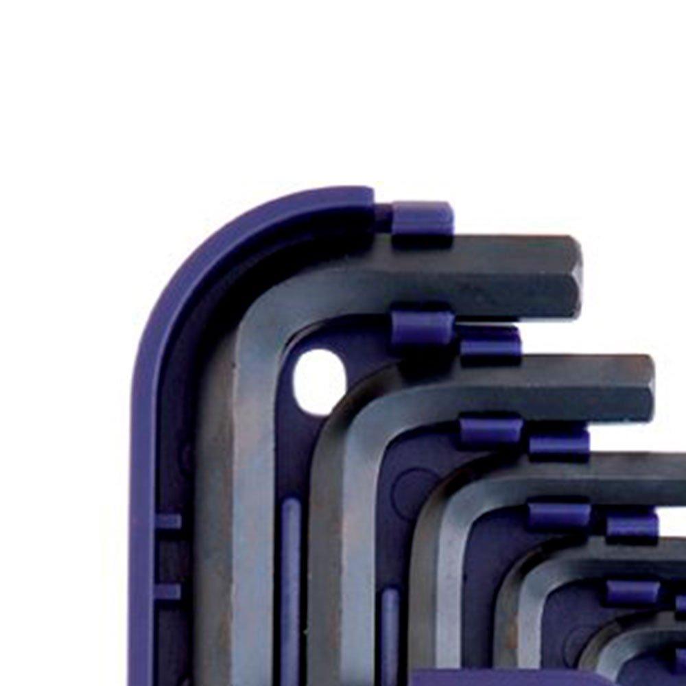 Chave Hexagonal Curta .050 a 3/8 Pol. com 13 Peças - Imagem zoom