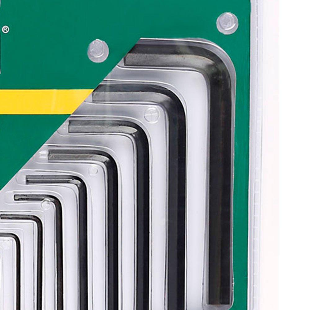 Jogo de Chaves Allen Longas e Curtas com 25 Peças - Imagem zoom