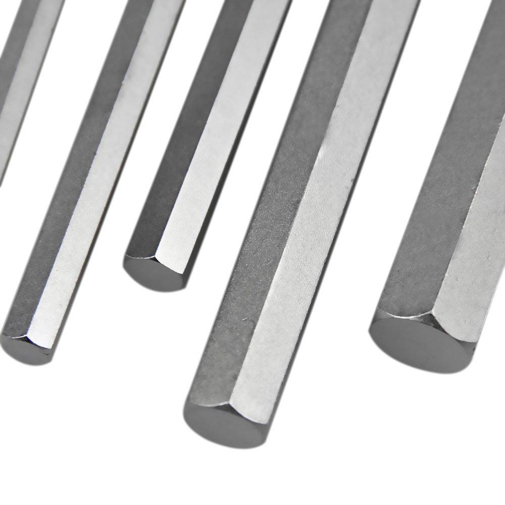 Jogo de Chaves Hexagonais Longas em Milímetros com 9 Peças - Imagem zoom