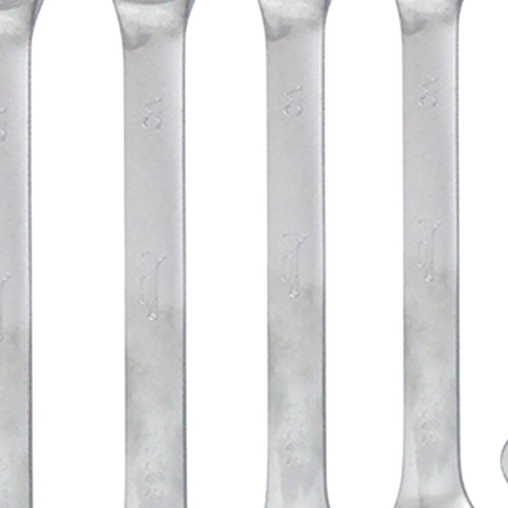 Jogo de Chaves Combinadas com Catraca 8 a 19 mm com 7 Peças - Imagem zoom