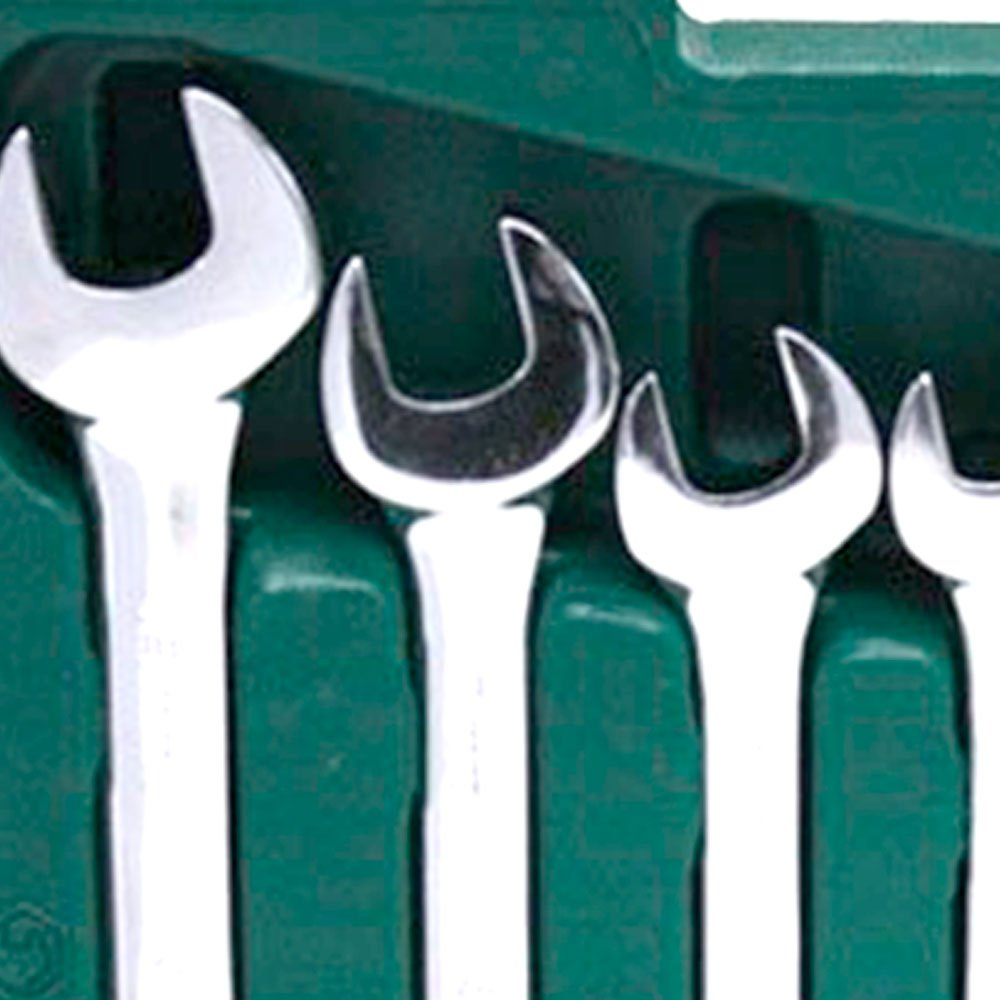 Jogo de Chave Combinada Catracada 8 a 19 mm - 8 Peças - Imagem zoom