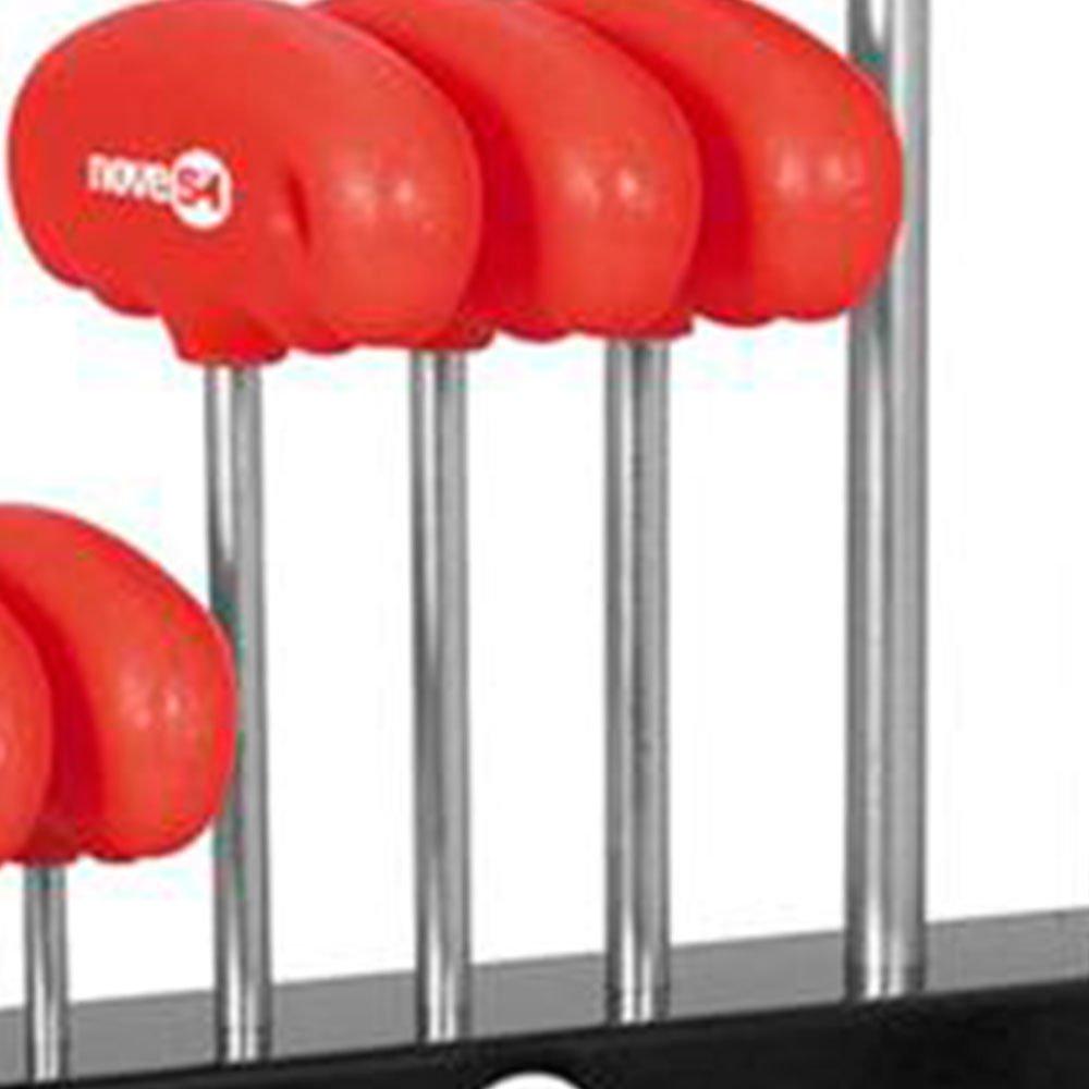Jogo de Chave Hexalobular com 9 Peças T10 a T50 - Imagem zoom