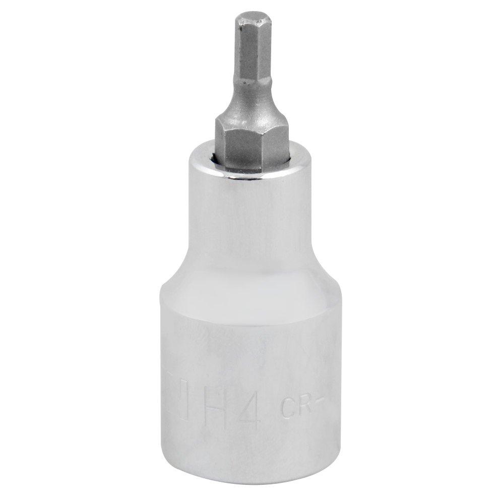 Chave Soquete Hexagonal de 4mm com Encaixe de 1/2 Pol. - Imagem zoom
