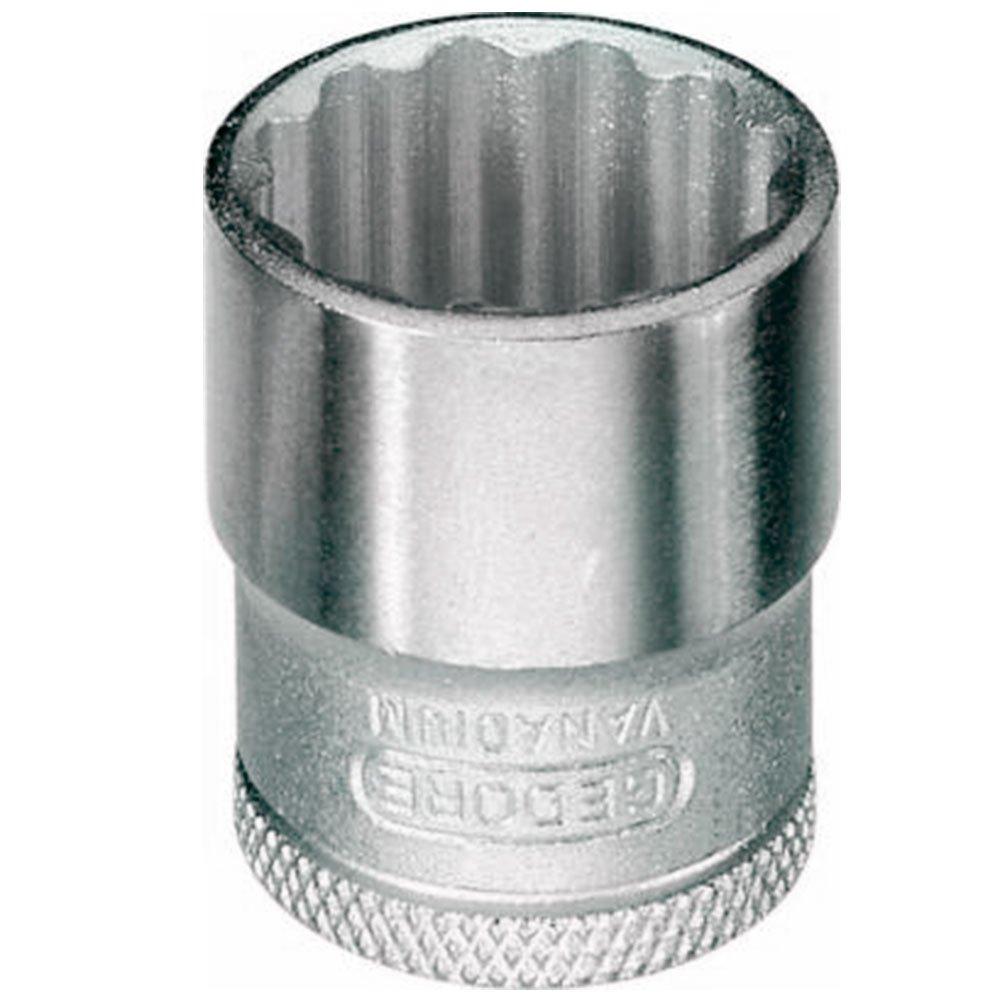 Soquete Estriado 9mm com Encaixe de 38 Pol