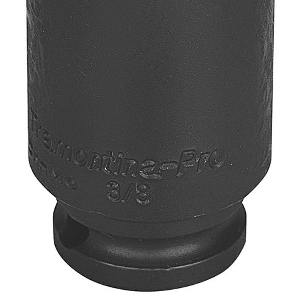 Soquete de Impacto Sextavado Longo Cr-Mo 19mm com Encaixe 3/8 Pol. - Imagem zoom