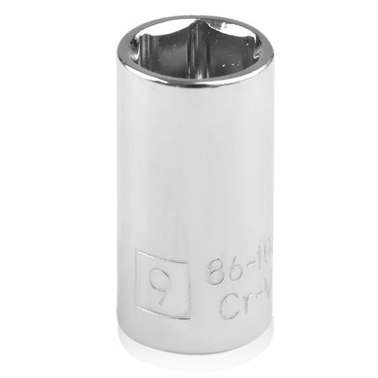Soquete Sextavado de 9 mm com Encaixe de 1/4 Pol. - Imagem zoom