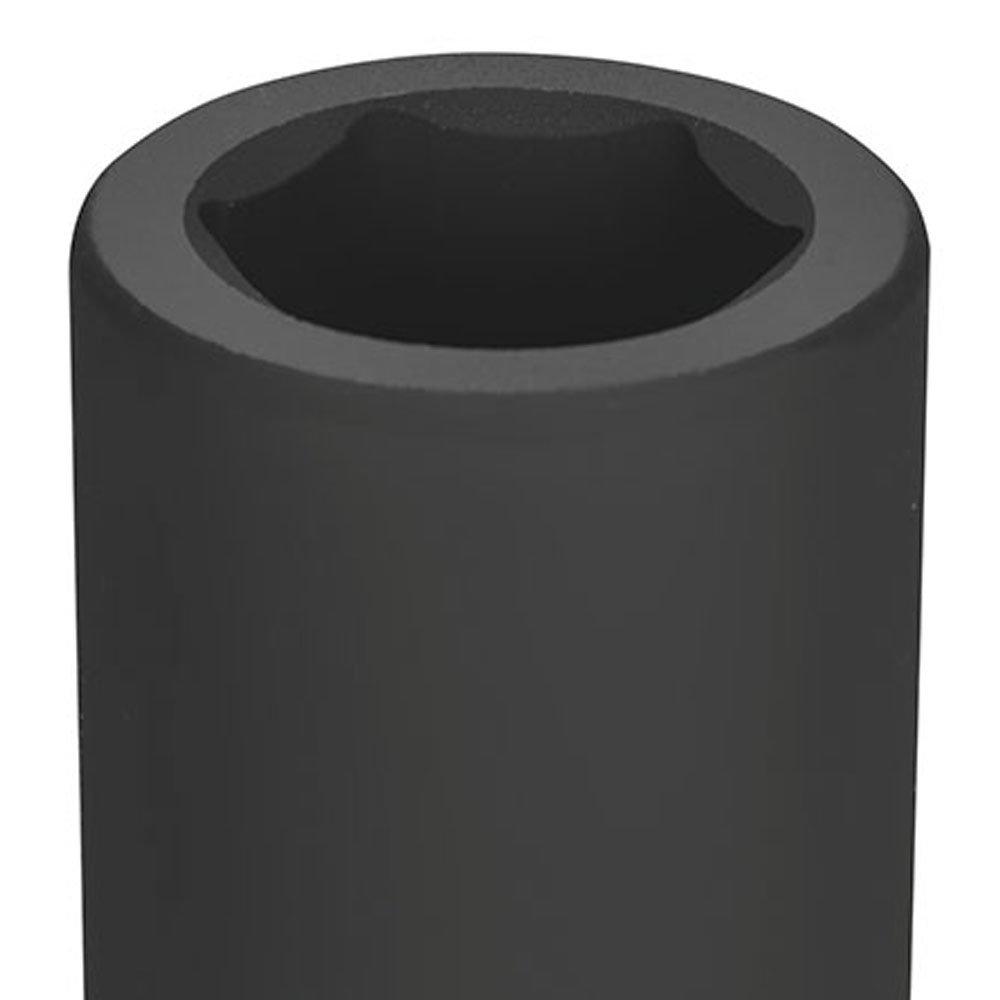 Soquete de Impacto Sextavado Longo Cr-Mo 30mm Encaixe 1 Pol. - Imagem zoom
