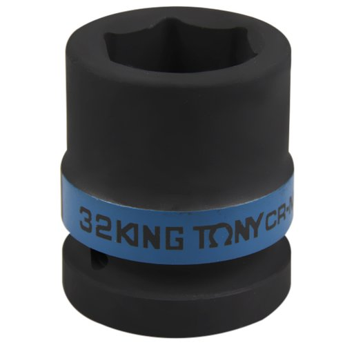soquete de impacto sextavado com encaixe de 1 pol. - 32 mm