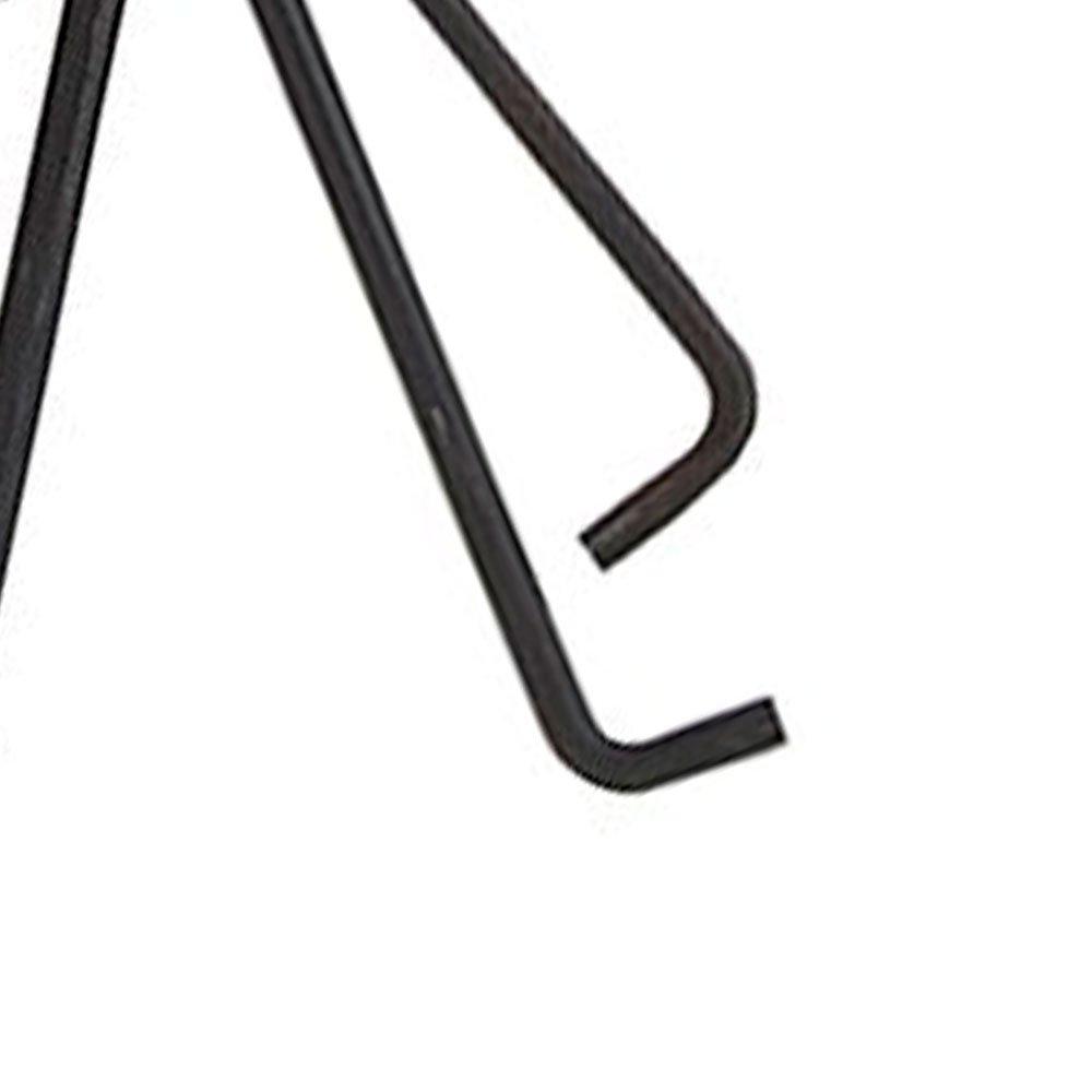 Jogo de Chaves Hexagonal 1,5 a 10 mm Tipo Chaveiro com 10 Pecas - Imagem zoom