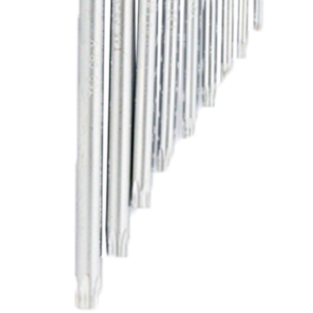 Jogo de Chaves Tork Extra Longas T10 - T50 9 Peças - Imagem zoom