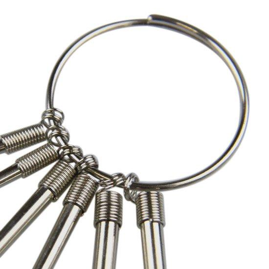 Jogo de Chave Tork com Argola 6 Peças - Imagem zoom