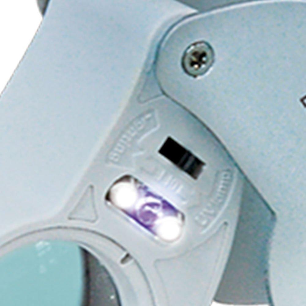 Lupa de Bolso/ Dedo SLD-131 com LED/UV - Imagem zoom