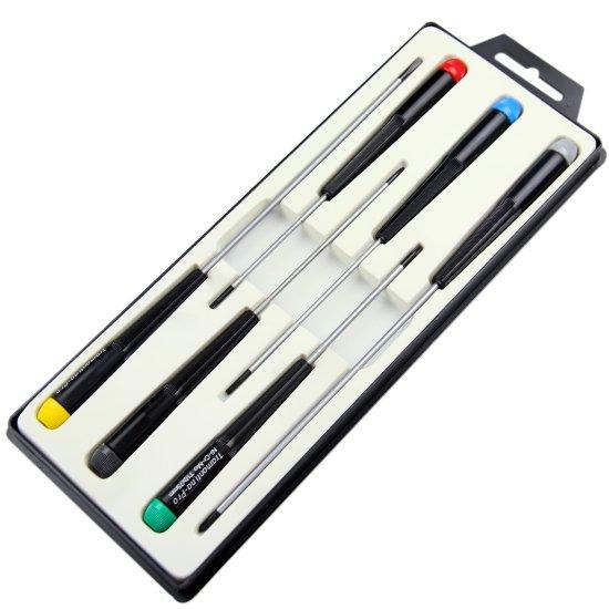 Jogo de Chaves de Fenda para Eletrônica com 6 Peças - Imagem zoom