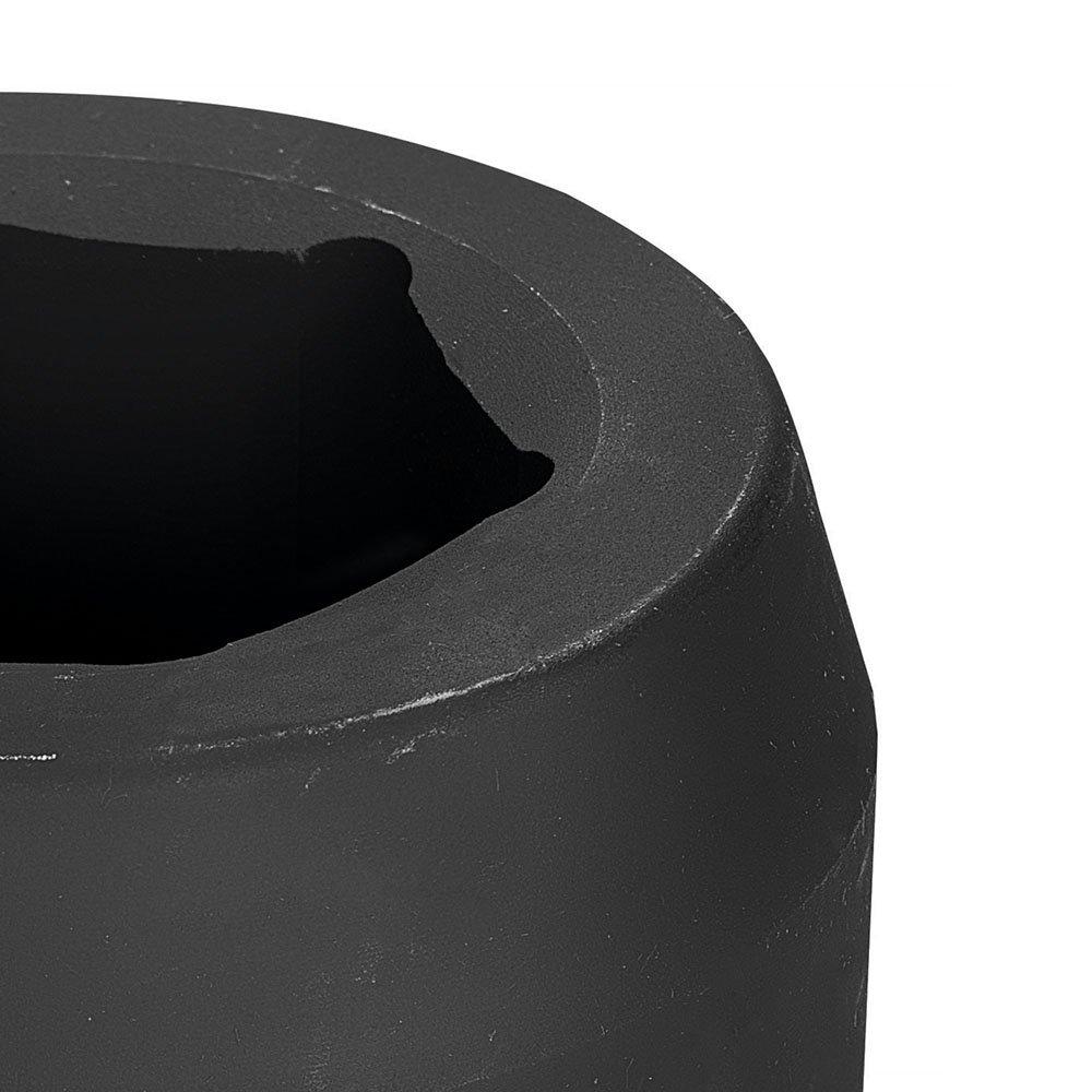 Soquete de Impacto Sextavado Cr-Mo 55mm com Encaixe de 1.1/2 Pol. - Imagem zoom