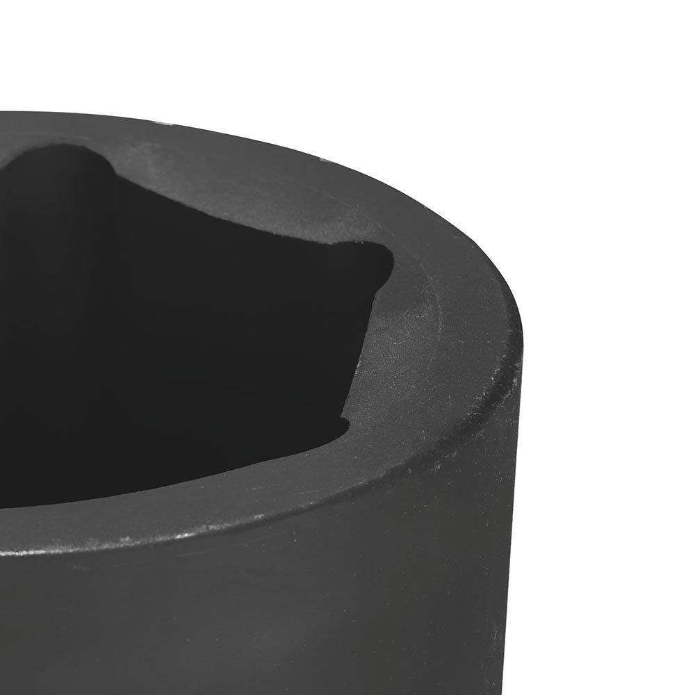Soquete de Impacto Sextavado Cr-Mo 80mm com Encaixe de 1.1/2 Pol. - Imagem zoom