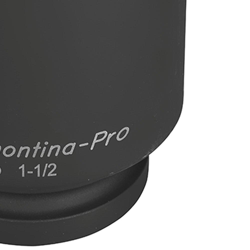 Soquete de Impacto Sextavado Longo em Cr-Mo 80mm com Encaixe de 1.1/2 Pol.  - Imagem zoom