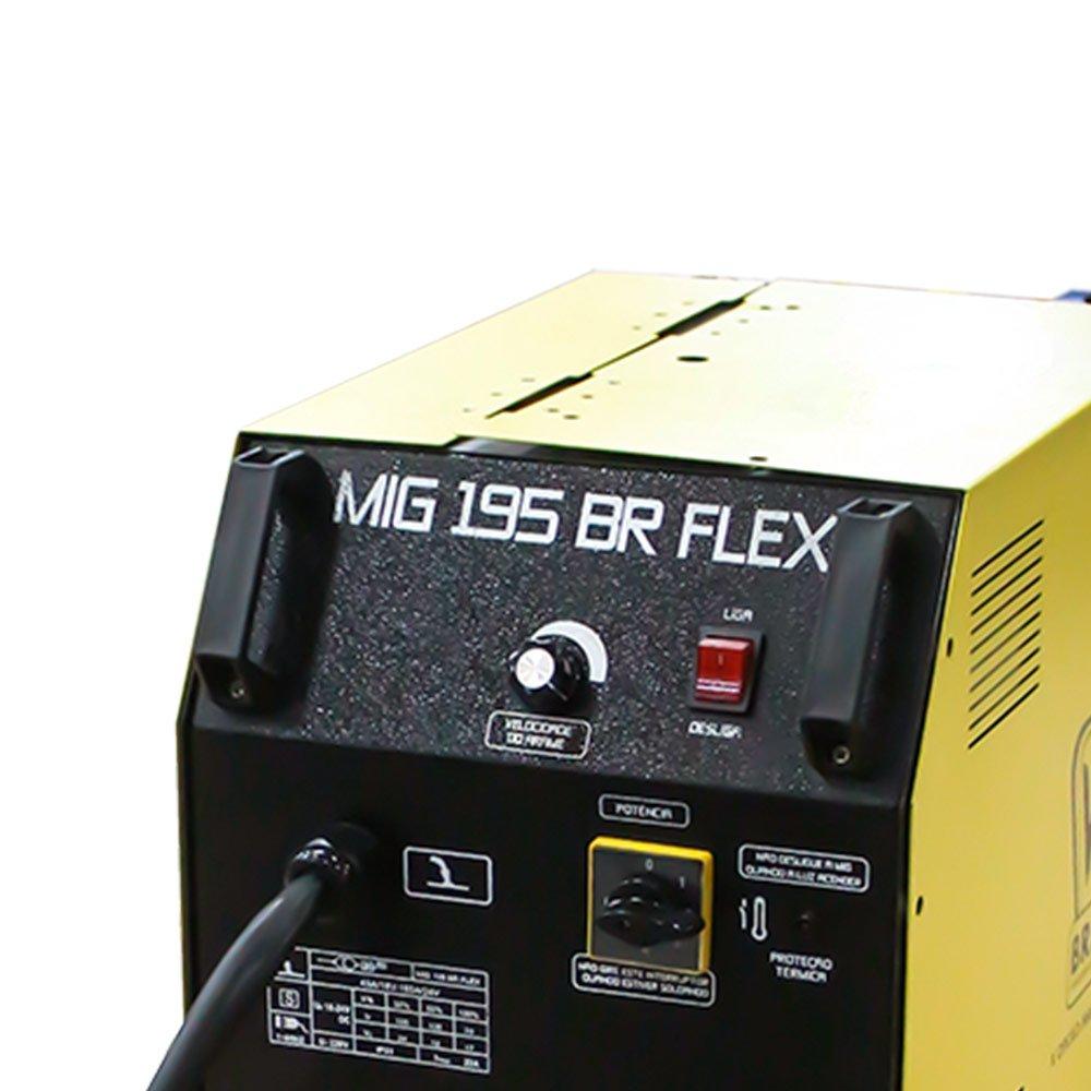 Máquina de Solda Mig 195A  Monofásico MIG 195BR FLEX - Imagem zoom