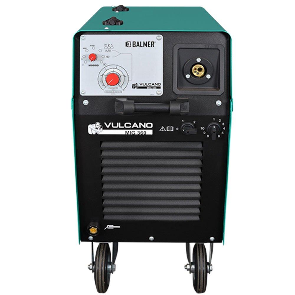 Máquina de Solda MIG/MAG 360A 220/380V Trifásica Vulcano MIG-360 - Imagem zoom