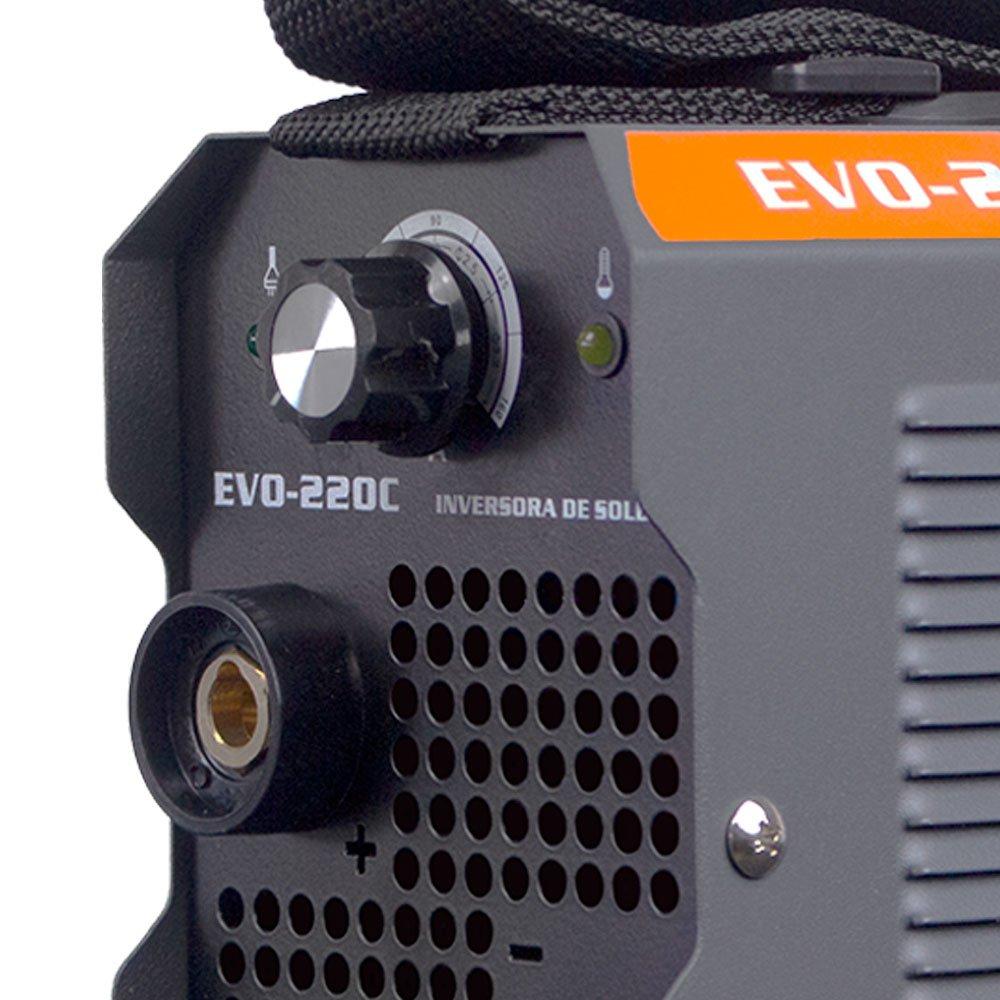 Máquina Inversora de Solda Portátil 170A 220V - Imagem zoom