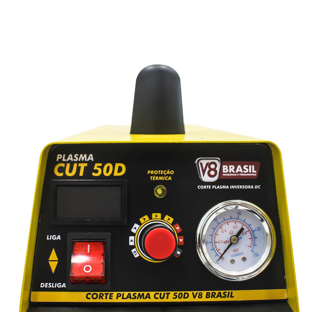 340917b99 Máquina de Corte Plasma 50A 220V Monofásica - V8 BRASIL-107494 - R ...