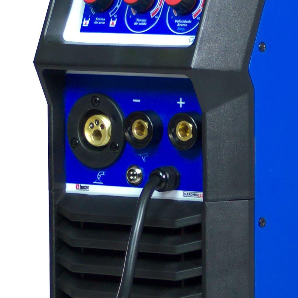 Máquina de Solda MIG/MAG 300A Mono ou Trifásico 220V - Imagem zoom