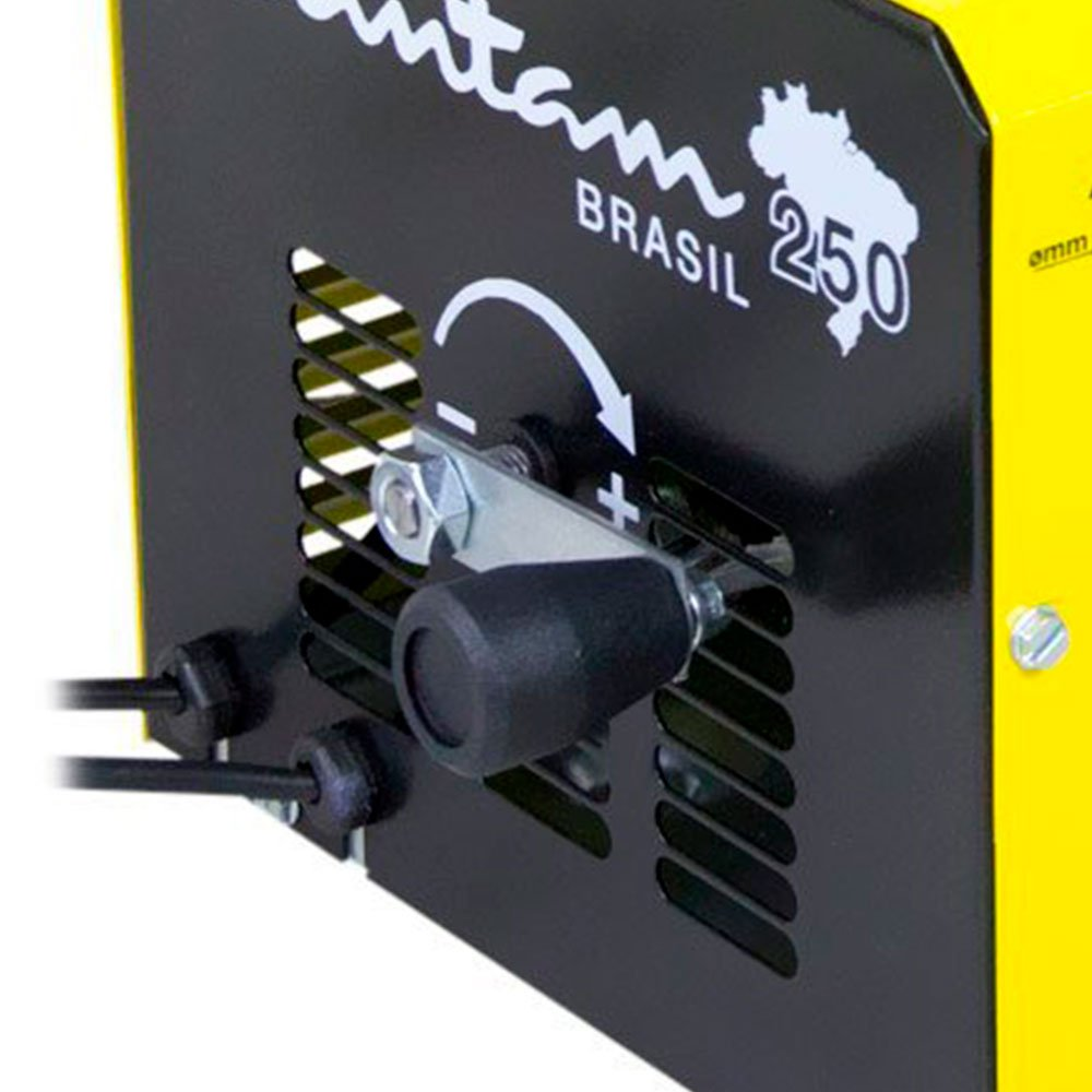 Kit Máquina Transformadora de Solda 250Amp Bivolt ESAB-0406680 + Máscara de Solda - Imagem zoom