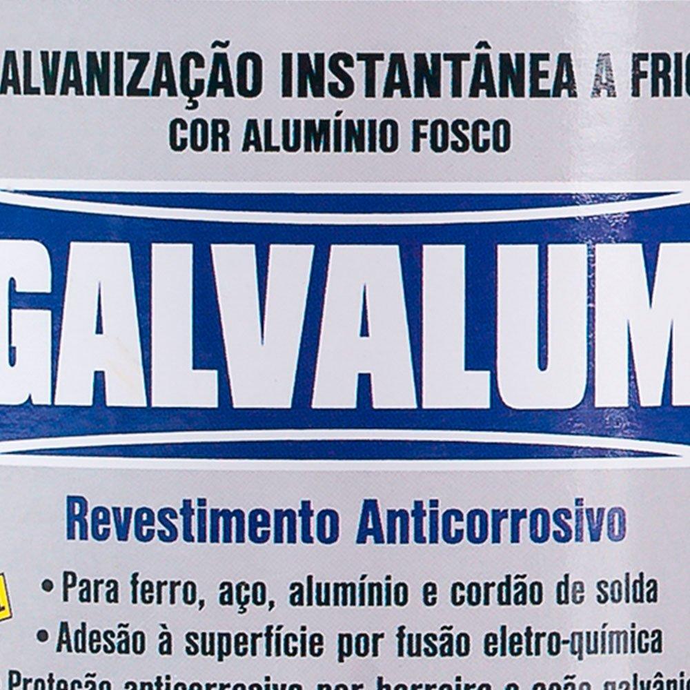 Galvalum Galvanização Aluminizada a Frio 225ml - Imagem zoom