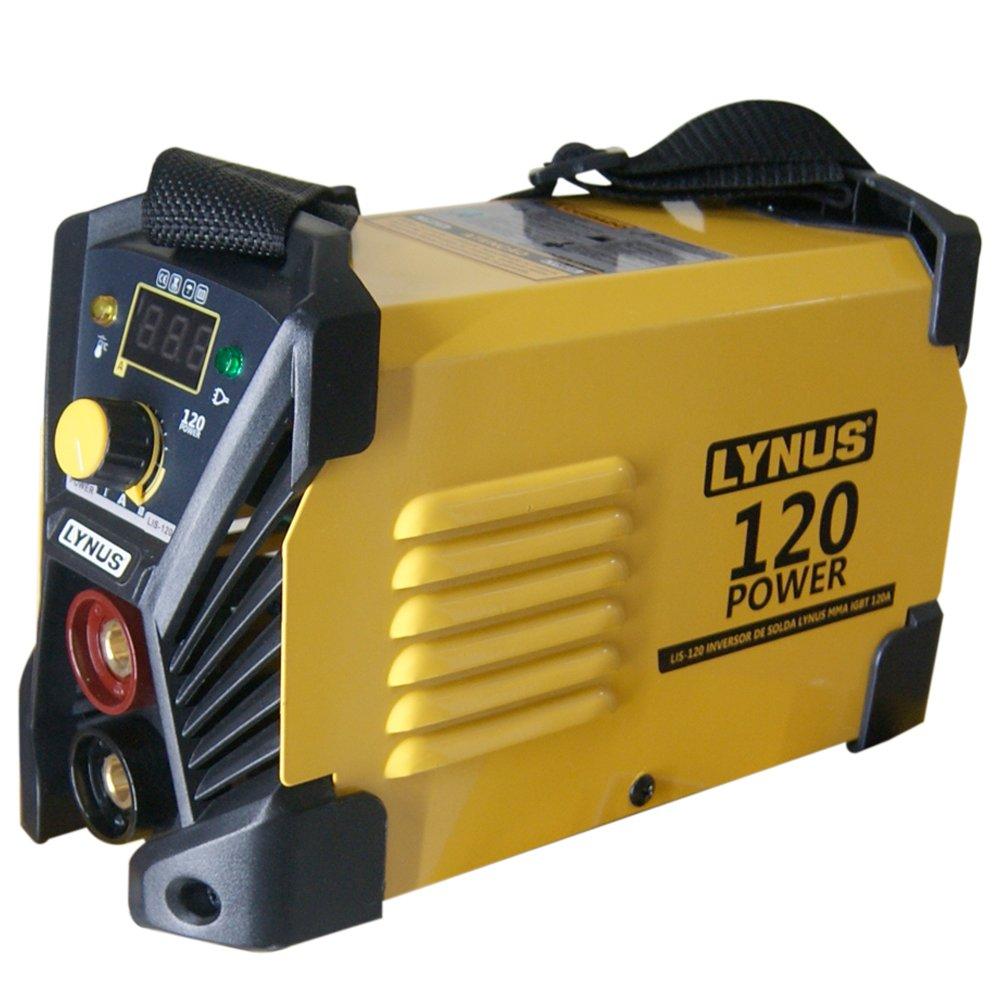 f7c43d5cb7cd6 Máquina Inversora de Solda MMA LIS-120 Power 120A com Display Digital -  Imagem zoom