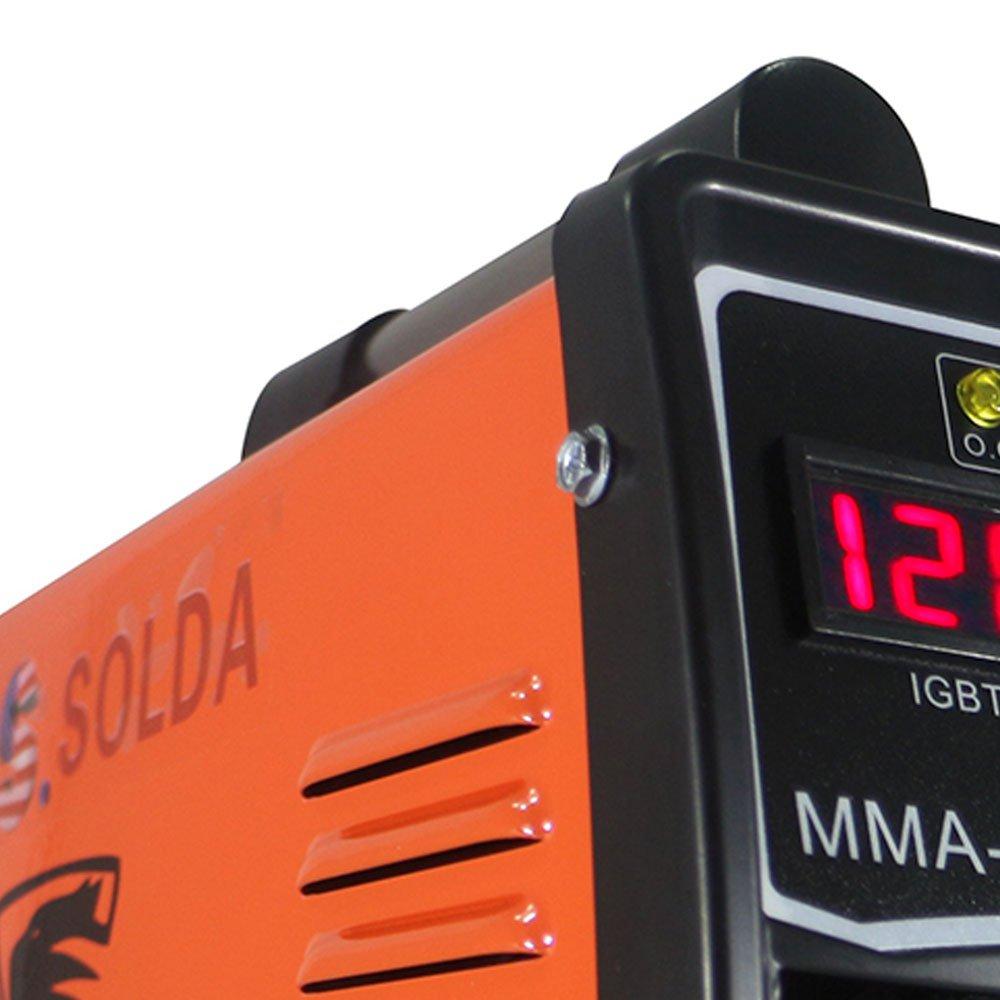 Máquina Inversora de Solda MMA 240BM 140A 220V Monofásico - Imagem zoom