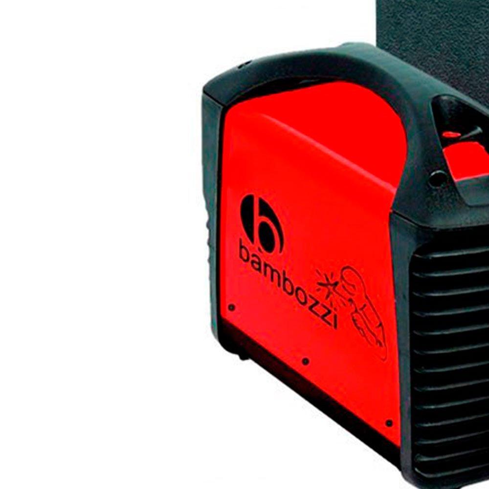 Kit Máquina de Solda Inversora MMA 140A com Maleta Bivolt Bambozzi WMI161ED + Eletrodo Ok Serralheiro E6013 2,5mm 1Kg - Imagem zoom