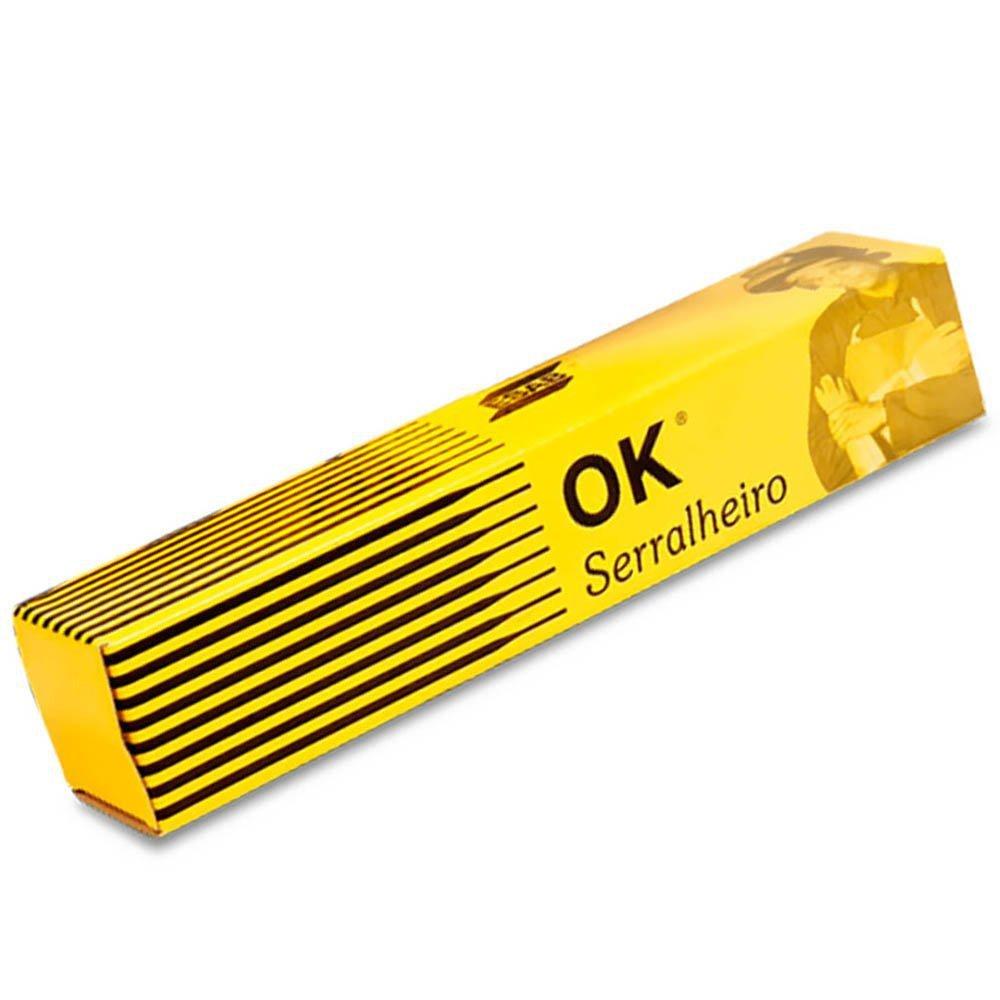 Kit Máquina Inversora de Solda 160A Bivolt Terra 706704 + Eletrodo Ok Serralheiro E6013 2,5mm 1Kg - Imagem zoom