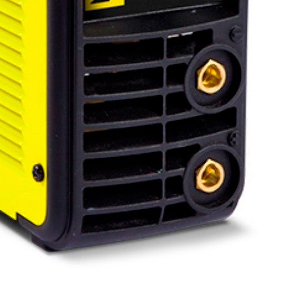Kit Máquina Inversora de Solda 140A 220V Esab 0734002 + Eletrodo Ok Serralheiro E6013 2,5mm 1Kg - Imagem zoom
