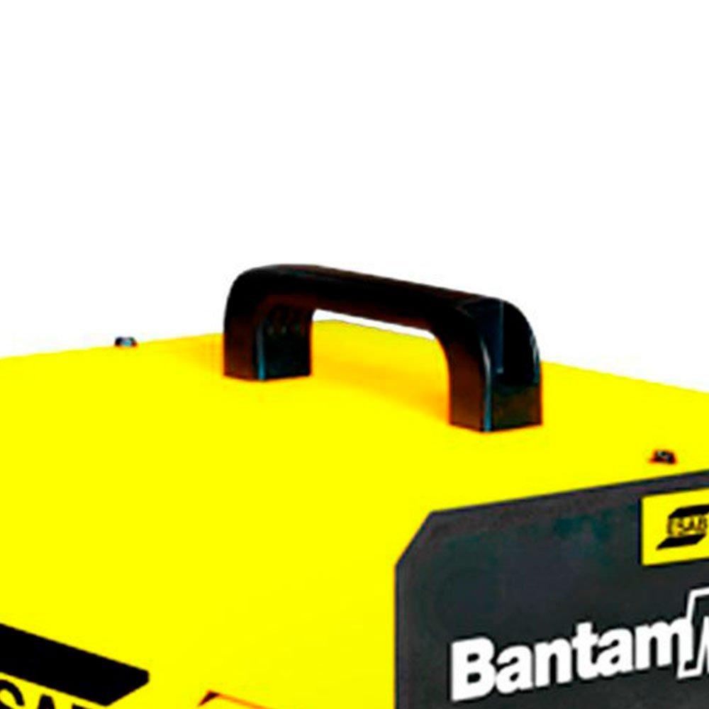 Kit Máquina Transformadora de Solda Bantam Max 250A 110/220V Esab 737874 + Eletrodo 2,5mm 1Kg - Imagem zoom