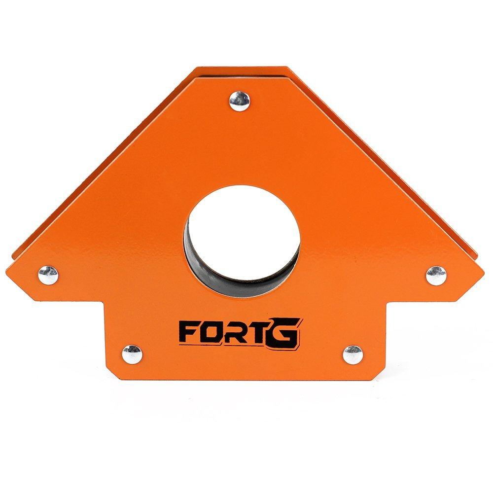 Kit Máquina de Solda Inversora MMA170iP 170A Bivolt Fortg Pro FG4514 + Esquadro Magnético Triangular 35Kg - Imagem zoom
