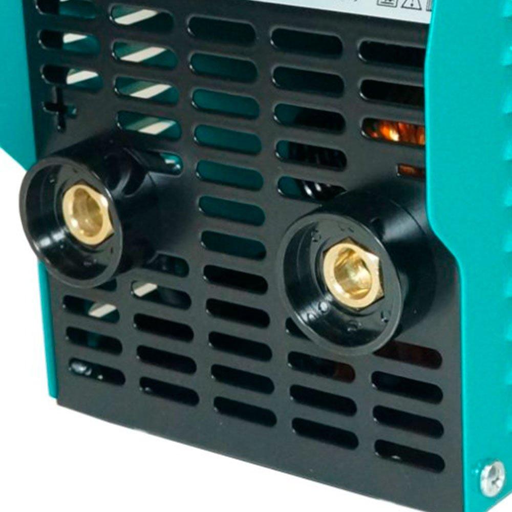 Kit Máquina de Solda Portátil Inversora Joy 132 MMA 130A  Balmer 30179526 + Esquadro Magnético 12Kg para Soldador FG4700 - Imagem zoom