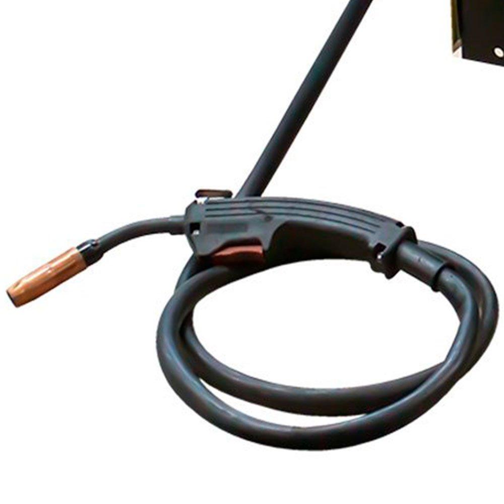 Kit Máquina de Solda Mig 195A  Mono 195BR FLEX - V8 Brasil 107608 + Esquadro Magnético para Soldagem 35Kg FG4710 - Imagem zoom