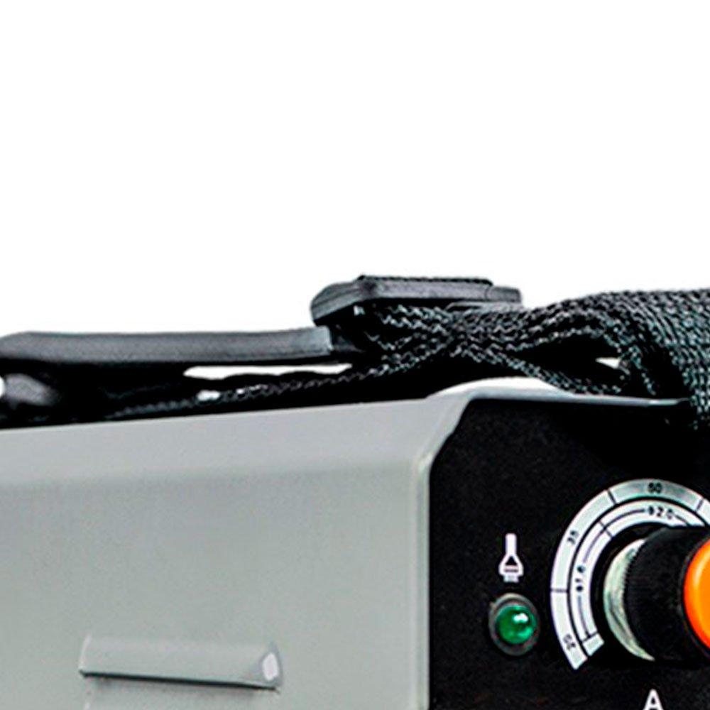 Kit Máquina de Solda Inversora SMARTER-EVO-130C Mono 130A  + 4  Esquadros Magnéticos 12Kg TITANIUM-4325 - Imagem zoom