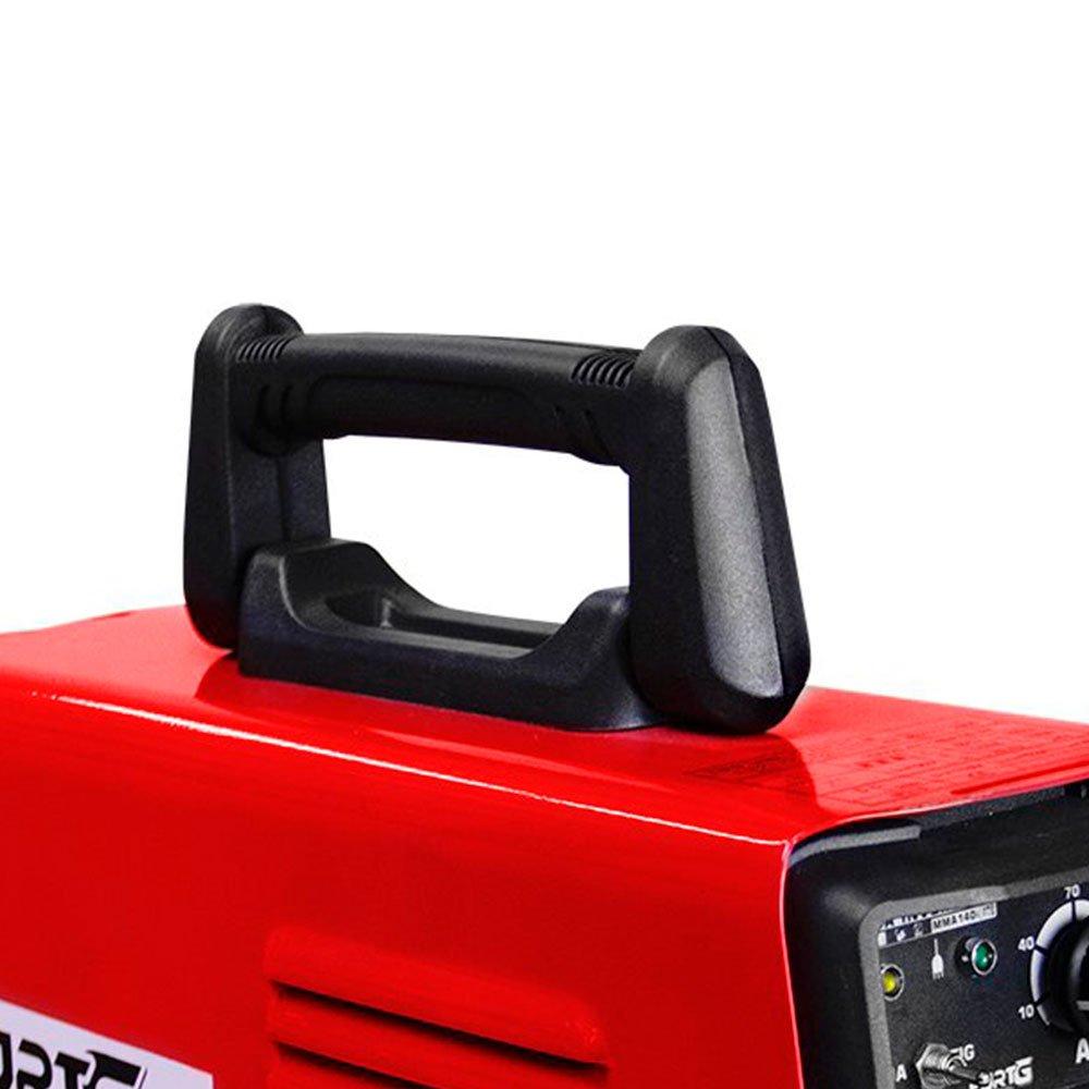 Kit Máquina de Solda FORTGPRO FG4131 MMA140i e TIG Lift Inversora Multifuncional DC + Máscara de Solda Tonalidade 11 Automática - Imagem zoom