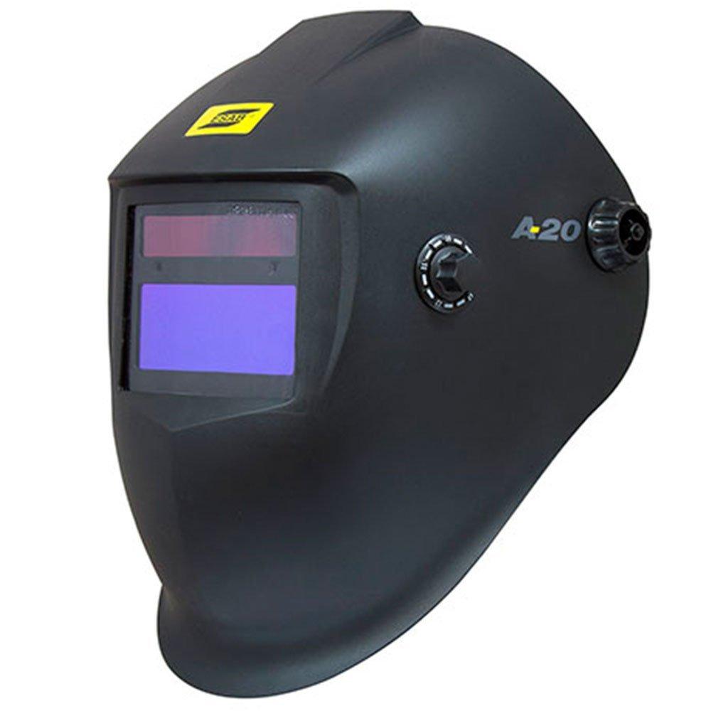 Kit Máquina de Solda Bivolt ALUTIG 200 ACDC BOXER 3005010 + Máscara para Solda A20 ESAB 0735373 - Imagem zoom