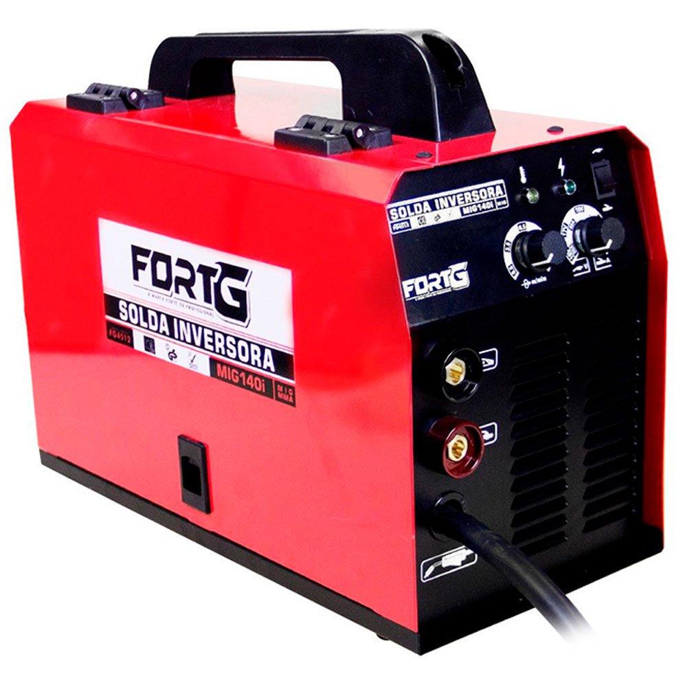 Kit Máquina de Solda FORTGPRO FG4512 Multifuncional MIG140i MMA e MIG/MAG + Rolo Arame de Solda LYNUS LAM-1 1Kg - Imagem zoom