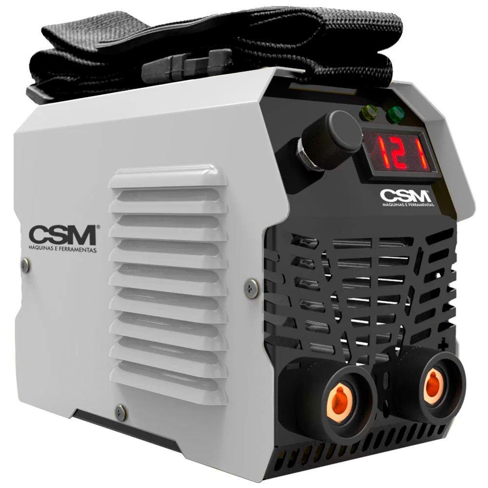 Máquina de Solda Inversora MMA 120A  Display Digital com Acessórios - Imagem zoom